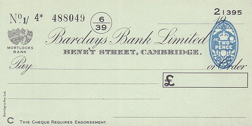 how to stop a bank cheque