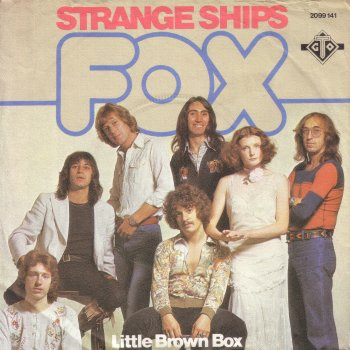 The band Fox with lead singer Noosha on the cover of the recording Strange Ships