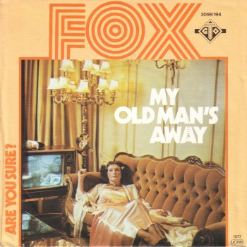 Noosha Fox on the cover of the recording My Old Man's Away