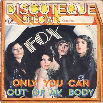 Discoteque Special of Fox from Italy with what looks like some transvestites on the cover