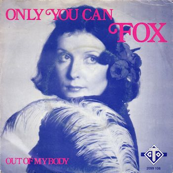 Noosha Fox on Dutch cover of the single Only You Can