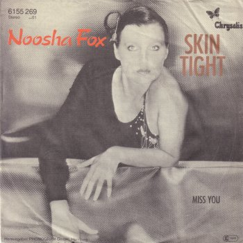 Noosha Fox on the cover of the recording Skin Tight