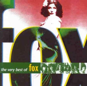 Noosha Fox on the cover of the album - the very best of Fox