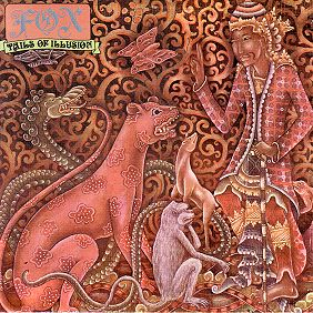 Tails of Illusion album cover from the band Fox, which starred lead singer Noosha Fox